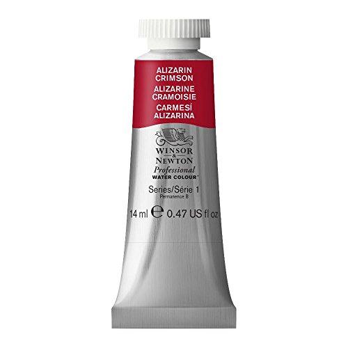 Winsor & Newton Professional Water Colour Paint, 14ml tube, Alizarin Crimson