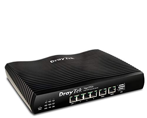 Dray Tek Vigor 2926 Dual-WAN Security-Router schwarz