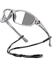 Juashine Photochromic Cycling Sunglasses for Men Women Motorcycle Running Fishing Glasses Sports UV400 Protection