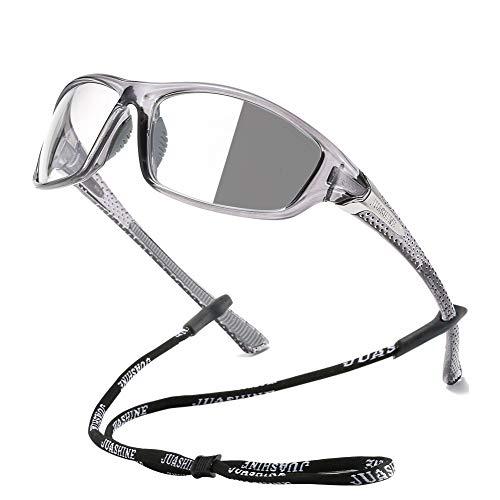 JUASHINE Photochromic Sports glasses For Men Women Biking Cycling Running Driving Fishing Golf Motorcycle UV400 Protection N1619 C1