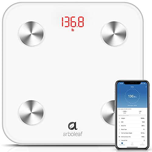 Arboleaf Body Fat Scale Digital Scale High Precision Bathroom