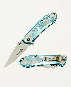 Femme Fatale Spring Assist 4 Inch Folding Knife