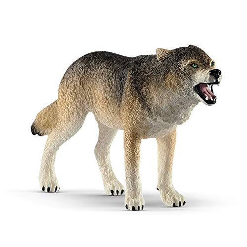 SCHLEICH Wild Life, Animal Figurine, Animal Toys for Boys and Girls 3-8 Years Old, Wolf