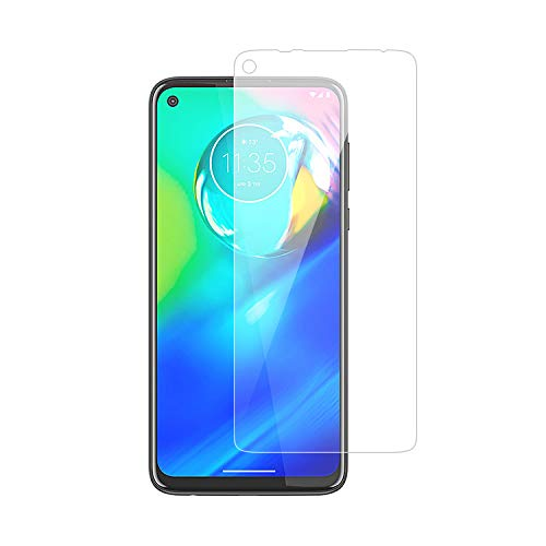 2Pack Glass Screen Protector Compatible with Moto G9 Plus, Premium Tempered Glass Screen Protector for Motorola G9 Plus 9H Hardness, 0.3mm Thick