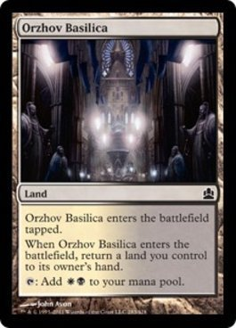 Magic: the Gathering - Orzhov Basilica - Commander by Magic: the Gathering