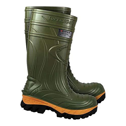 Cofra BRC-THERMIC Z 45 - Calzature termiche, taglia 45, confezione da 10 pezzi, colore: Verde