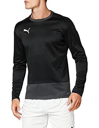 PUMA Herren teamGOAL 23 Training Sweat Pullover, Black-Asphalt, M