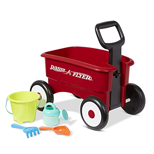 My 1st Wagon with Beach and Garden Tools