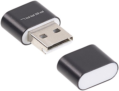 PEARL Micro SD USB: 2er-Set Mini-Cardreader für microSD(HC/XC)-Karten bis 128 GB & USB (Minikartenlesestick)