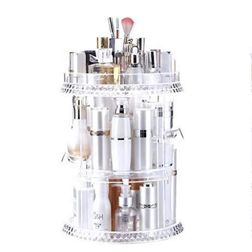 DIY roterende cosmetische opbergdoos dressoir lippenstift huidverzorgingsproduct desktop storage