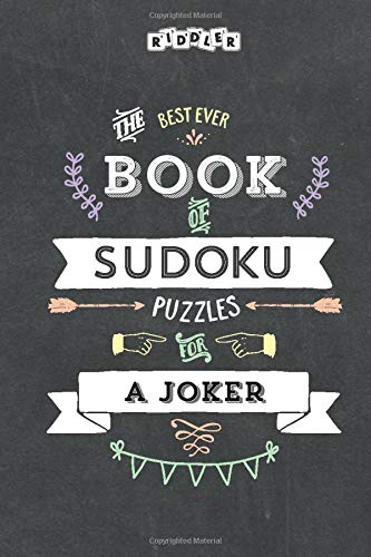 The Best Ever Book of Sudoku Puzzles for a Joker