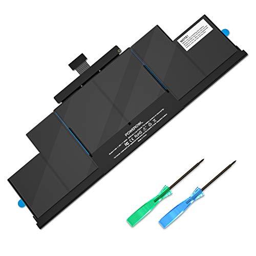"""POWEROWL A1494 A1398 Batería para MacBook Pro Batería Retina de 15"""" Mid 2014 Late 2013, Apto para MacBookPro 11,2 11,3 2013 2014 MacBook Pro Batería A1398 - (No para A1398 Early 2013)"""