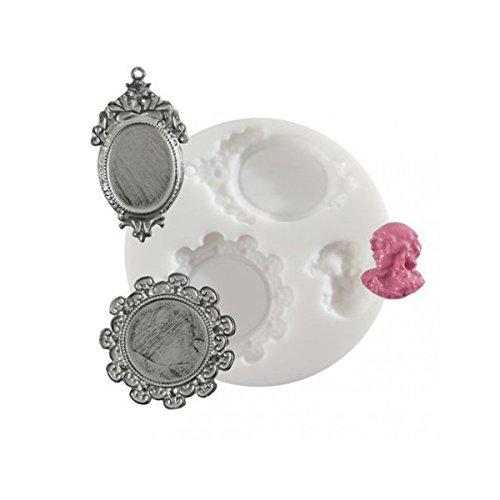MTD Products - Stampo per la creazione di gioielli, motivo cameo
