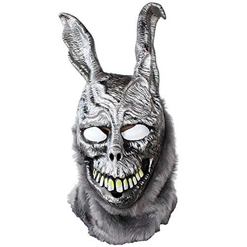 Story of life Donnie Darko Frank The Rabbit Mask - Perfekt Für Karneval & Halloween - Kostüm Für Erwachsene - Latex, Unisex Einheitsgröße