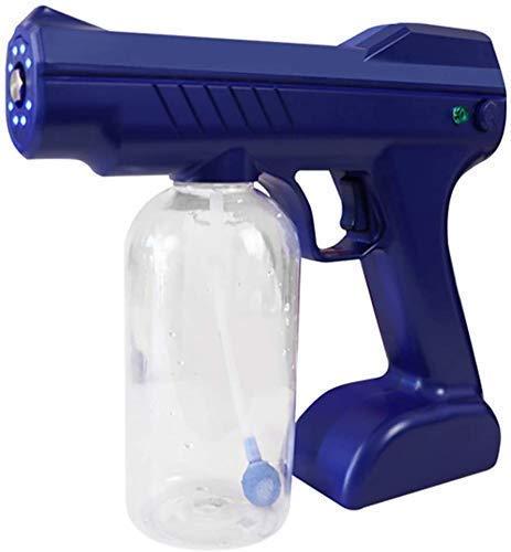 Sprühgerät-Sprühmaschine, elektrisches Sprühgerät, tragbare Handheld-Desinfektion Blue Light Nano Dampfpistole Zerstäubermaschine