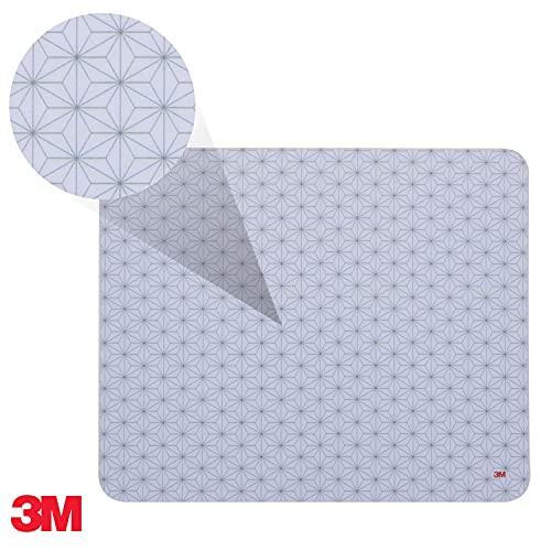 3M Mauspad mit selbsthaftender Unterseite, 21,5 x 17,8 cm, grau | MS200PS - 2