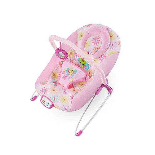 Bright Starts, Hamaca bebé Butterfly Dreams, color rosa