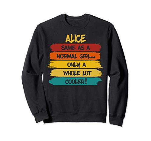 Alice Definition Personalized Name Funny Birthday Sudadera