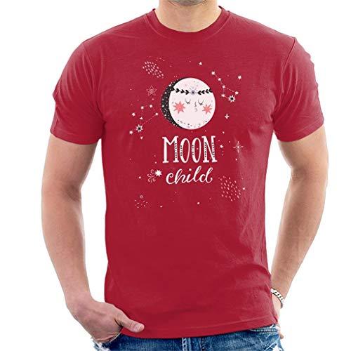 Moon Child Hippy Illustration - Camiseta para hombre