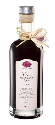 Gourmet Berner, Chili Schokolade Likör, 25%vol., 0,5l