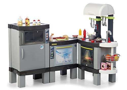 Chicos - Cocina XXXL Smart, Infantil con Luces y Sonido y 31 Accesorios Incluidos, a Partir de 3 Años, Medidas-120.8 x 94.8 x 100 cm (Fábrica de Juguetes 85016)