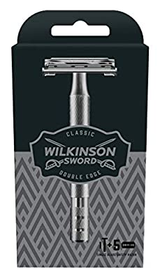 Wilkinson Sword Classic Double Edge Safety Razor with 5 Blades from Edgewell Personal Care