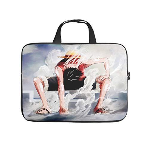 Hehweiiiyda One Piece Halloween Printed Laptop Bag Bag Portable Tablet Antistatic Notebook Case - White - 12'