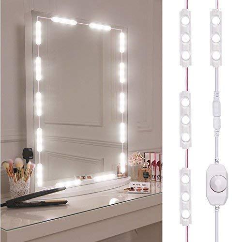 Viugreum Luces LED de Espejo,Luces de camerino,DIY Lámpara para Espejo de maquillaje,...