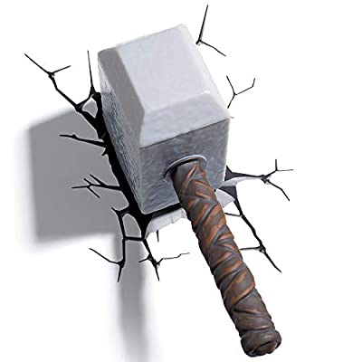 thor hammer deco light