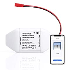 Be Smart: Make your existing garage door smart. Remote and Voice Control, just tapping the meross /'mɪrɚs/ app from anywhere or speaking to your Alexa, Google Assistant or SmartThings devices. To let in your family, guests or couriers through the gar...