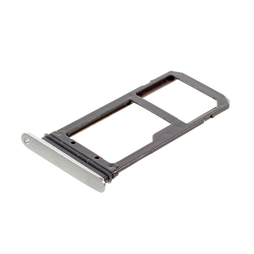 Samsung Galaxy S7 G930 SIM Kartenhalter Card Tray Holder SD Schlitten Silber