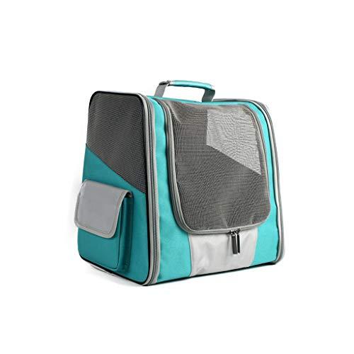 Brucelin Espace Reisetasche, atmungsaktiv, für Reisen, Wandern, Radfahren und im Freien grün