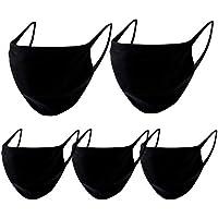Protector facial unisex, lavable y reutilizable, 30 unidades, con elástico para la oreja, cara completa, antipolvo