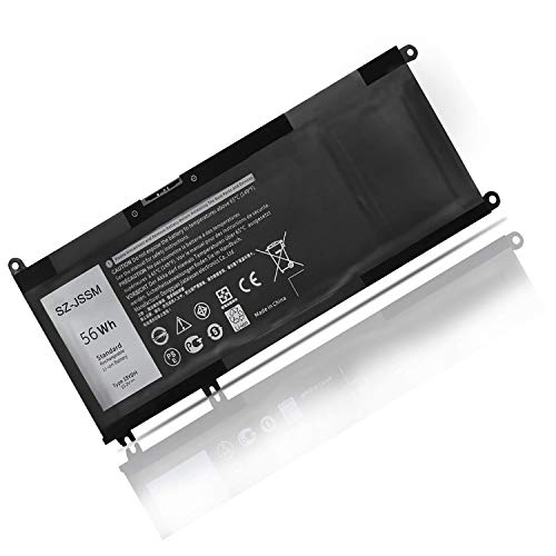 SZ-JSSM 33YDH PVHT1 - Batería para Dell Inspiron 17 7000 7778 7779 7786 7773 3779 G5 15 7577 7588 3579 5587