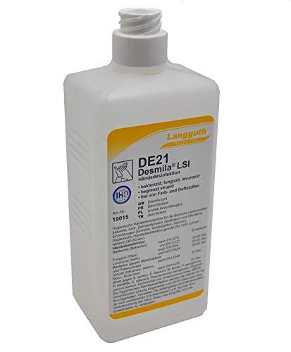 Desmila LSI DE21 500 ml Haut-& Händedesinfektionsmittel entfernt Bakterien, Pilze und Viren Desinfektionsmittel