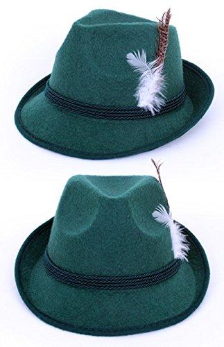 HaPe-Kopa Tiroler Sombrero Cazadores zille Tal Verde