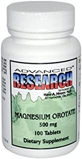 NCI Advanced Research Dr. Hans Nieper Magnesium Orotate Tablets, 500 Mg, 100 Count