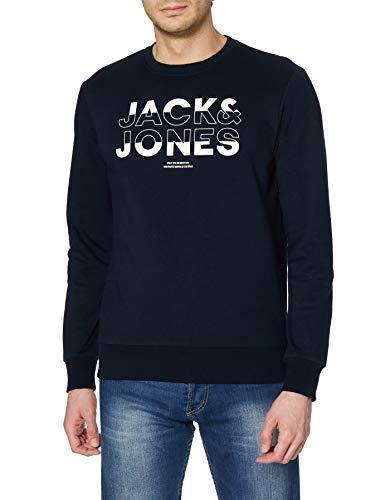 Jack & Jones Sweatshirt Sudadera, Capitán del Cielo, L para Hombre