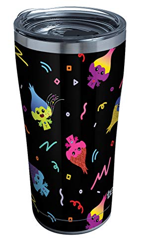 Tervis DreamWorks Trolls Double-Walled Insulated Tumbler, 20oz - Stainless Steel, 1980's Vibe -  1353673