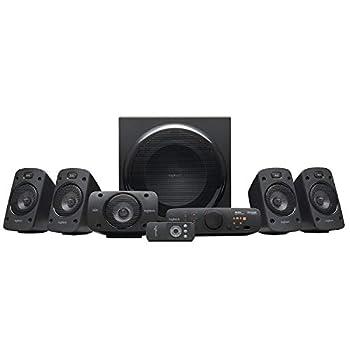 Logitech Z906 5.1 Surround Sound Speaker System - THX Dolby Digital and DTS Digital Certified - Black