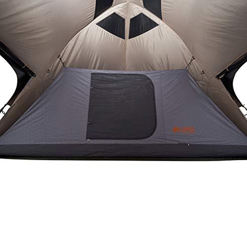 ロゴス(LOGOS) デカゴン500 ハーフ用インナー&グランドシートセット 71459313 グレー インナーサイズ:(約)幅480×奥行220×高さ170cm グランドシートサイズ:(約)幅480×奥行220cm