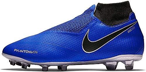 Nike Ao3266, Scarpe da Calcio Uomo, Blu (Racer Blue/Black-Metallic Silv 400), 47 EU