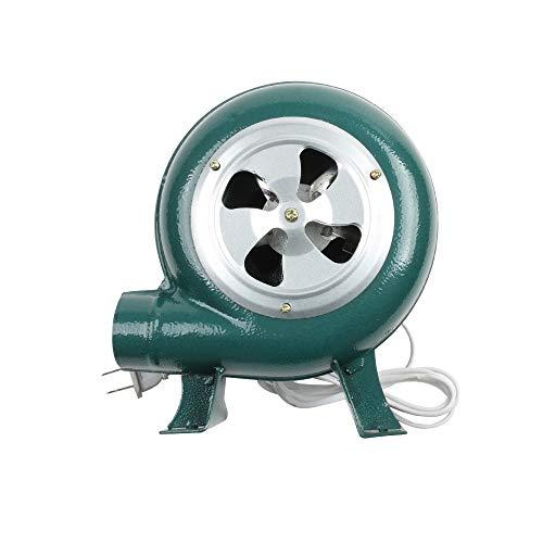 QSCTYG Soplador De Hojas 220V ~ 240V de Hogares del Ventilador del Hierro Barbacoa soplador centrífugo soplador Pequeño 30W 40W 60W 80W soplador Aspirador (Color : 60W)