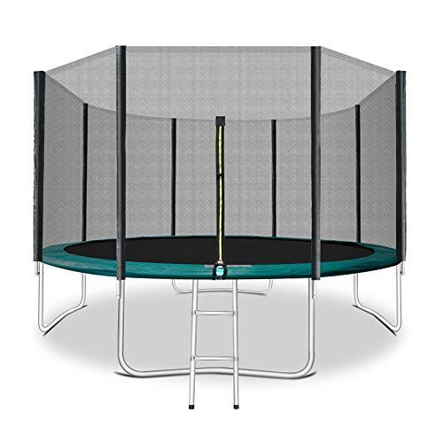 12 FT Trampoline for Kids Trampoline with Safty Enclosure...