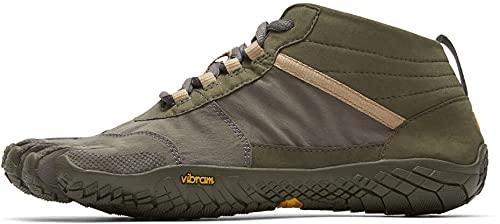 Vibram Five Fingers Men's V-Trek Trail Hiking Shoe (41 EU/8.5-9 US, Military/Dark Grey)