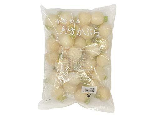 (冷凍野菜)六方かぶら 840g(30個)