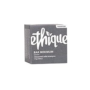 Ethique Unscented Shampoo Bar for Sensitive Scalps – Bar Minimum – Moisturizing Cocoa Butter, Coconut Oil, Soap Free…