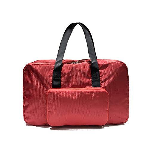 Bolsa De Fitness Aptitud simple bolsa casual impermeable bolsa de viaje de los hombres y las mujeres bolsa de viaje plegable de gran capacidad Bolso 47x31x17cm Adecuado Para Viaje De Senderismo