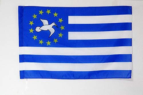 AZ FLAG Flagge AMBAZONIA IN KAMERUN 90x60cm - AMBAZONIA NATIONALISTEN Fahne 60 x 90 cm Scheide für Mast - flaggen Top Qualität