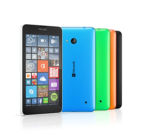 Microsoft Lumia 640 Smartphone débloqué 3G (Ecran : 5 pouces - 8 Go - Double SIM - Windows Phone 8.1) Orange (import europe)